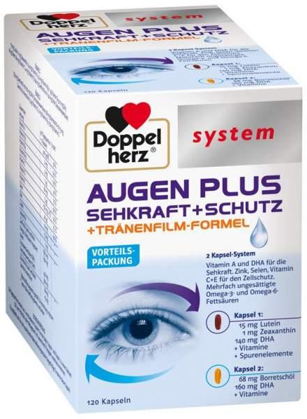 Doppelherz Augen plus Sehkraft + Schutz System 120 Kapseln