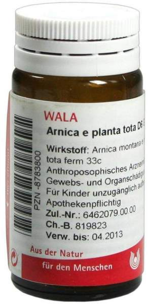 Arnica E Planta Tota D6 Wala 20 G Globuli