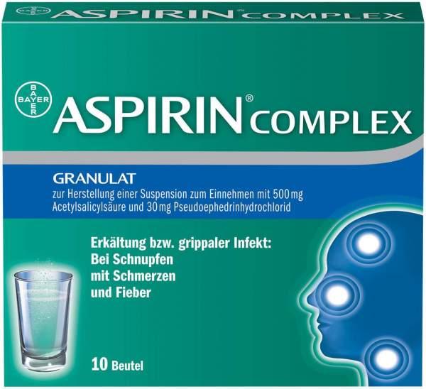 Aspirin Complex 10 Beutel Granulat