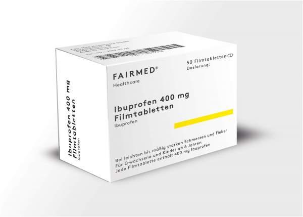 Ibuprofen 400 mg 50 Filmtabletten