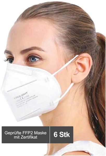 Atemschutzmaske CRDLight FFP2 6 Stück