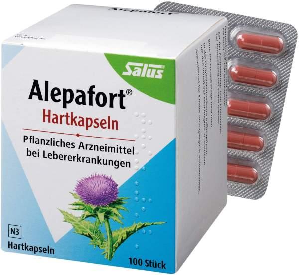 Alepafort Mariendistel 100 Hartkapseln