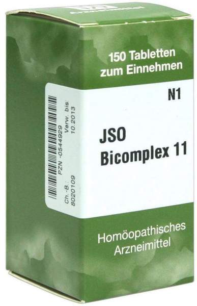 Jso Bicomplex Nr.11 150 Tabletten