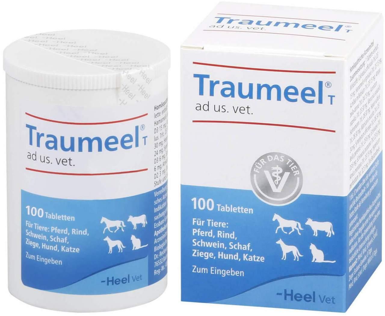 Traumeel T für Hunde und Katzen 100 Tabletten