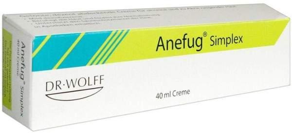 Anefug Simplex Creme 40 ml