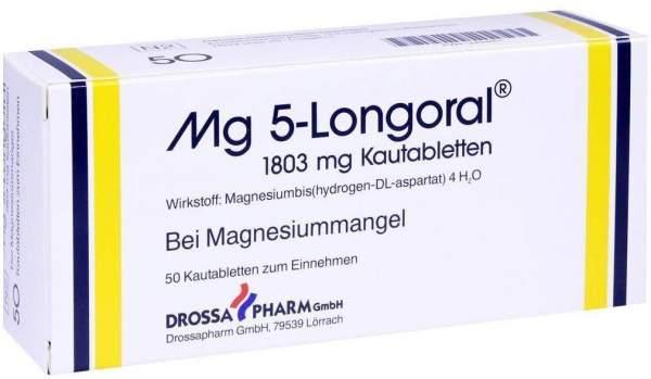 Mg 5 Longoral 50 Kautabletten