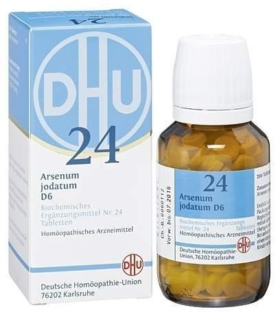 Biochemie DHU 24 Arsenum jodatum D6 80 Tabletten