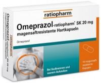 Omeprazol-ratiopharm SK 20 mg magensaftresistente Hartkapseln