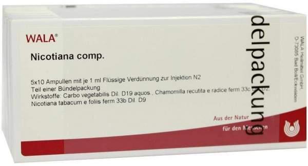 Nicotiana Comp. Ampullen 50 X 1 ml