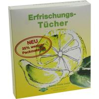 Erfrischungstücher Zitrone 10 Stück
