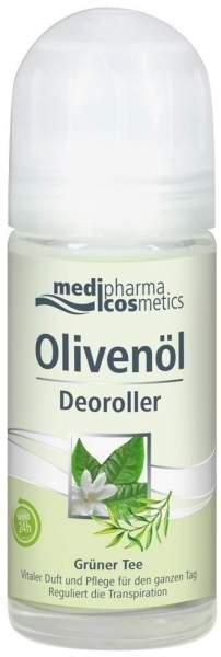 Olivenöl Deoroller Grüner Tee 50 ml Deoroller
