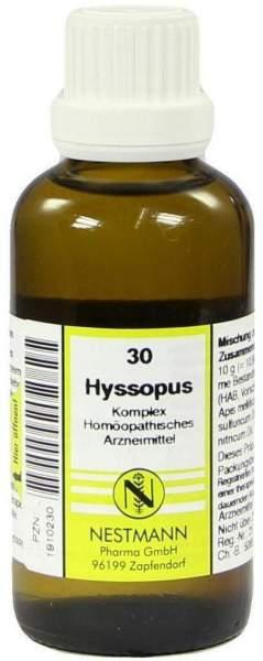 Hyssopus Komplex Nr. 30 50 ml Dilution