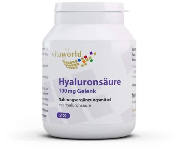 Hyaluronsäure 100 mg Gelenk Kapseln 100 Stück