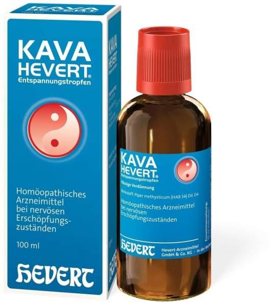 Kava Hevert Entspannungstropfen 100 ml