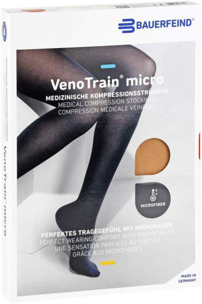 Venotrain Micro Ad M Norm. Short K2 Creme