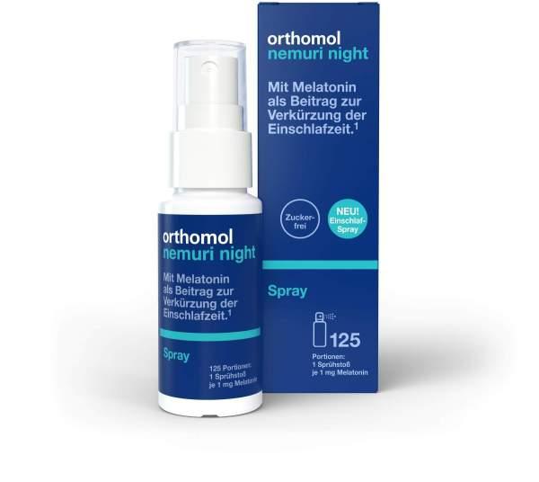 Orthomol Nemuri night Spray 25 ml