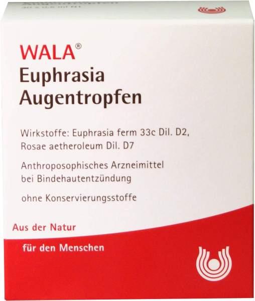 Wala Euphrasia Augentropfen 5 x 0,5 ml