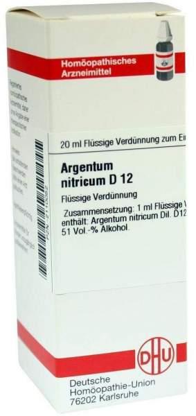Argentum Nitricum D12 20 ml Dilution