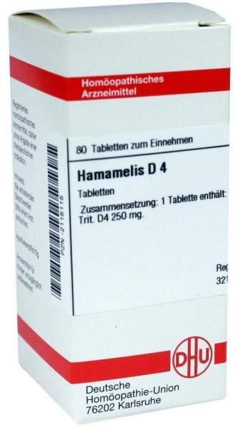 Hamamelis D4 80 Tabletten