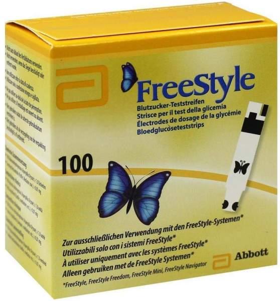 Freestyle 100 Teststreifen