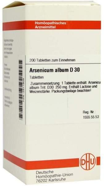 Arsenicum Album D 30 200 Tabletten