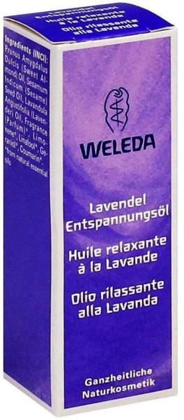 Weleda Lavendel Entspannungsöl 10 ml Öl