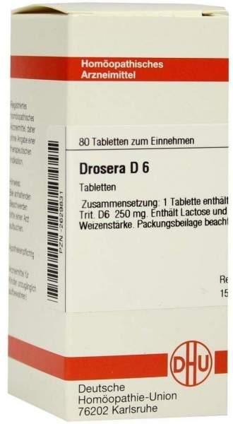 Drosera D 6 80 Tabletten
