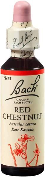 Bachblüten Red Chestnut 20 ml Tropfen