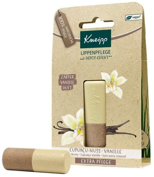 Kneipp Lippenpflege Extrapflege - Capuacu - Nuss & Vanille 4,7 g Lippenstift