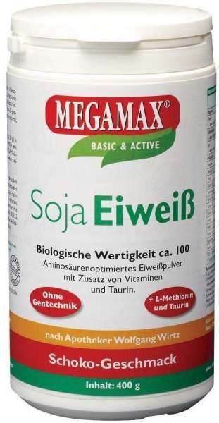 Megamax Soja Eiweiß Schoko 400 G Pulver