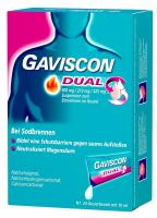 Gaviscon Dual 500mg 213mg 325mg Suspension 24 x 10 ml