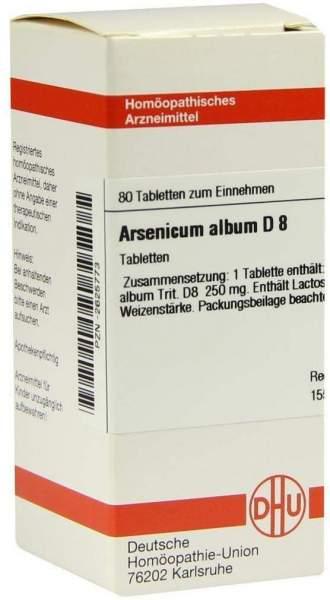 Arsenicum Album D 8 Tabletten