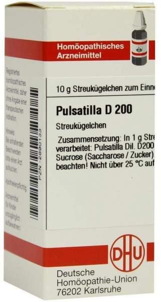 Pulsatilla D200 10 G Globuli