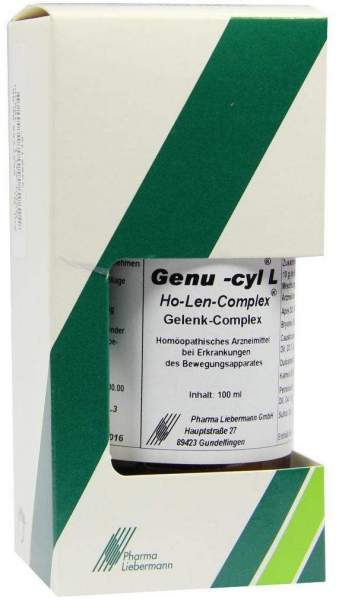 Genu Cyl L Ho Len Complex Tropfen 100 ml Tropfen