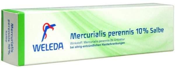 Weleda Mercurialis Perennis 10% 70 G Salbe