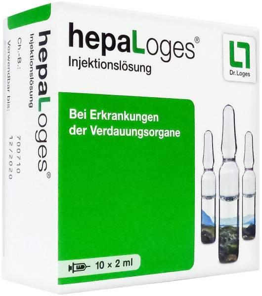 Hepaloges Injektionslösung 10 X 2 ml Ampullen