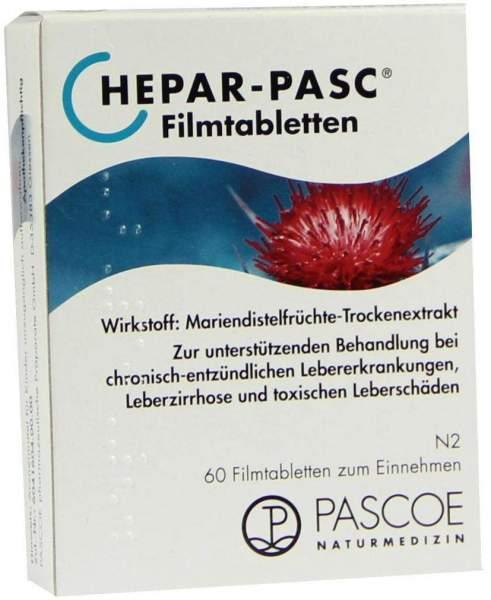 Hepar Pasc 60 Filmtabletten