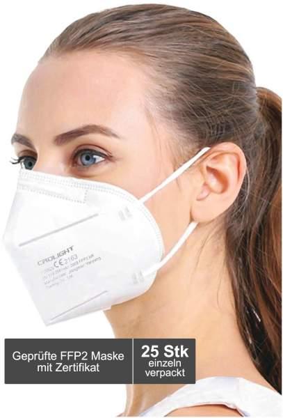 Atemschutzmaske CRDLight FFP2 25 Stück