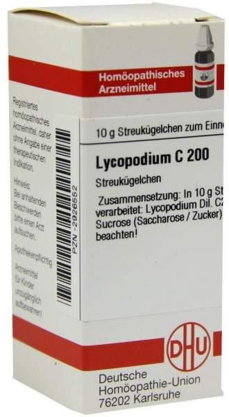 Lycopodium C200 Dhu 10 G Globuli