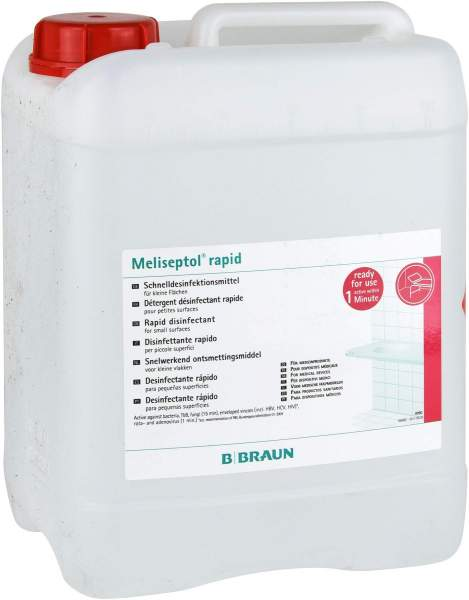 Meliseptol Rapid Kanister Lösung 5 Liter