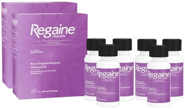 Regaine Frauen Lösung 6 x 60 ml