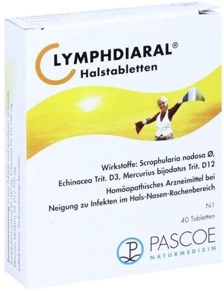 Lymphdiaral 40 Halstabletten