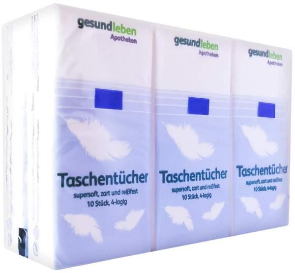 Gesund Leben Papiertaschentücher 6 X 10 Stück