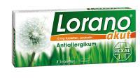 Lorano akut Antiallergikum 7 Tabletten