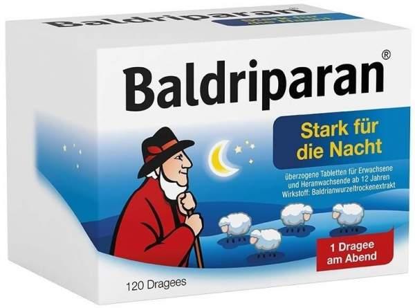 Baldriparan Stark für die Nacht 120 überzogene Tabletten