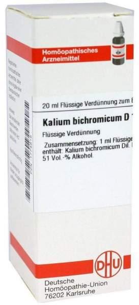 Kalium Bichromicum D6 Dhu 20 ml Dilution