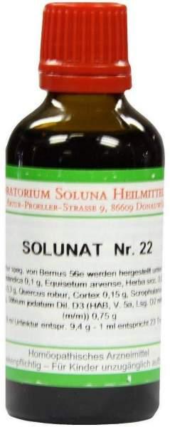 Solunat Nr.22 50 ml Tropfen