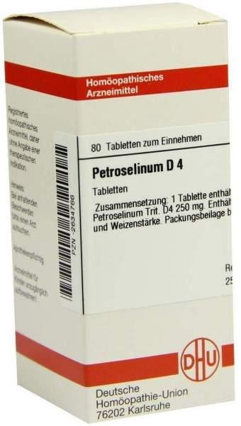 Petroselinum D4 Tabletten 80 Tabletten