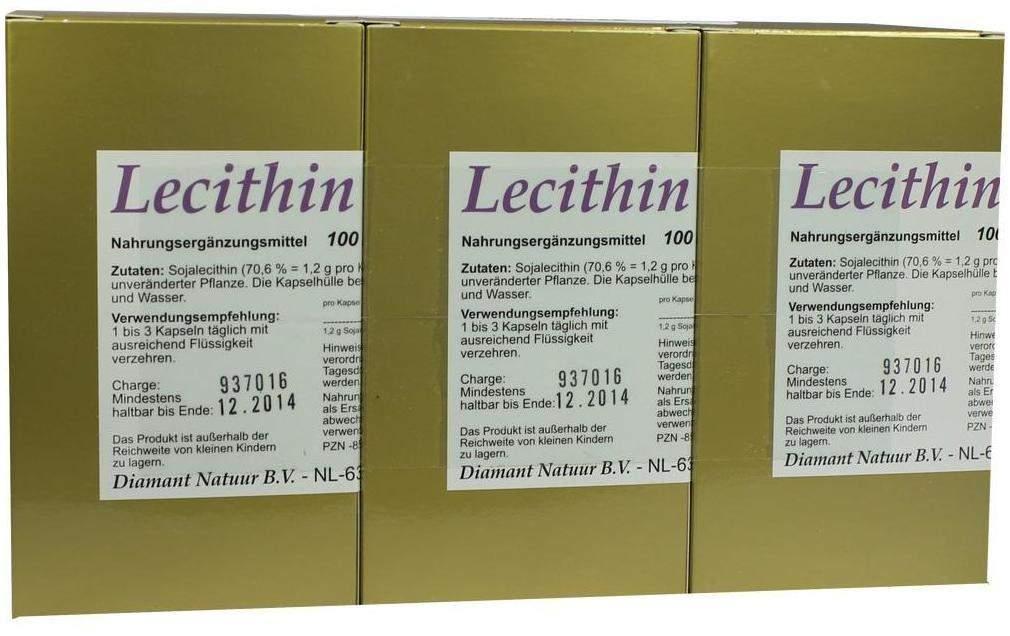 lecithin 1200 100 kapseln kaufen volksversand. Black Bedroom Furniture Sets. Home Design Ideas