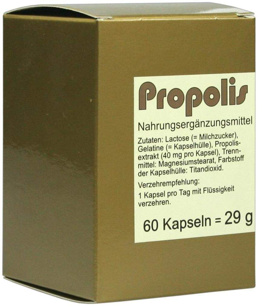 propolis 60 kapseln kaufen volksversand versandapotheke. Black Bedroom Furniture Sets. Home Design Ideas